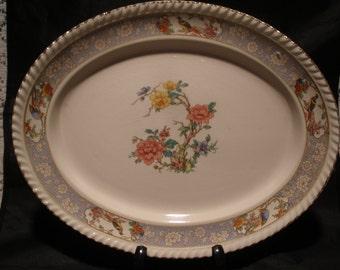"Johnson Bros ""The Vigo"" Olde English Platter Vintage 1930's Serving Dining Replacement"