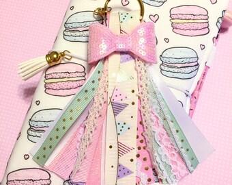 Girly Banner Planner Ribbon Tassel