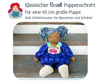 E-Book: make Waldorfpuppe itself (45 cm large doll)