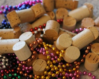 Bachelorette Hen Party Wine Cork Penis Necklaces - 10
