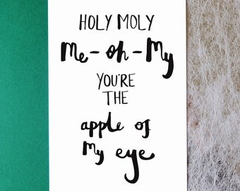 Holy Moly me oh my // A4 Print