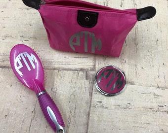 Monogrammed Cosmetic Gift Set