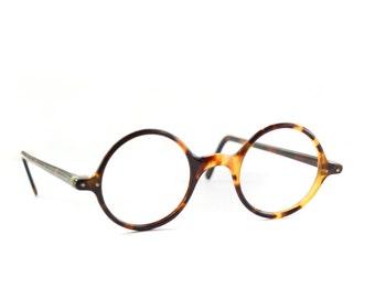 Antique eyeglasses - round  Vintage glasses - eyewear - early 1900s