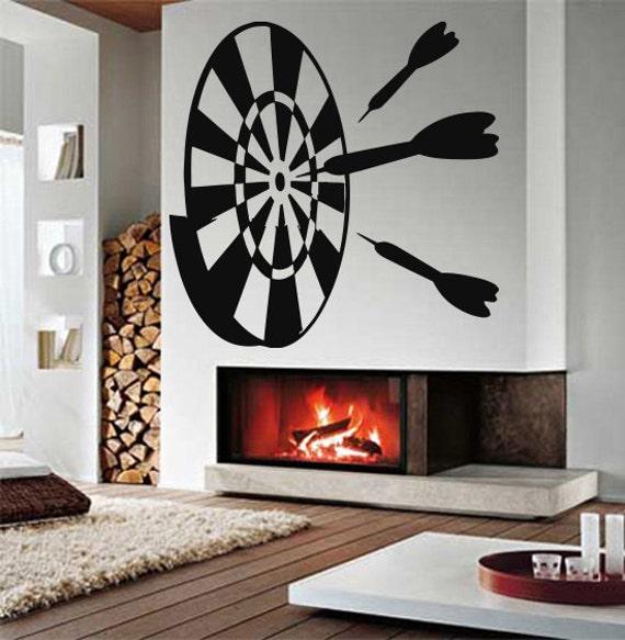 Wall Art Decals Target : Wall vinyl sticker decals mural room design decor darts target