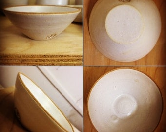 Handmade Cornish Stoneware Bowl