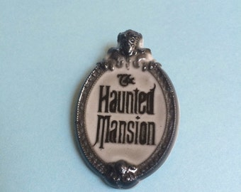 Haunted Mansion Brooch or Necklace