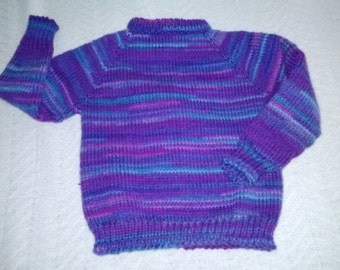 Grape Fizz Pullover Sweater