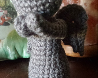 Crochet Dr. Who Weeping Angel