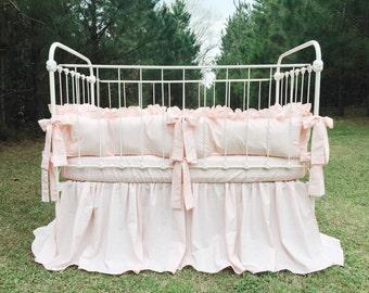 Baby Girl Bedding - Ballet Crib Bedding Set - Girl Baby Bedding - Ballet Crib Bedding - Girl Crib Bedding - Ballet Crib Skirt - Baby Girl