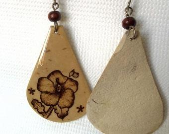 Flower Drop -Earrings