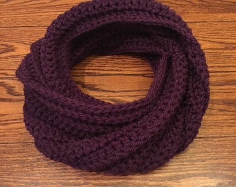 Ribbed Cowl Scarf