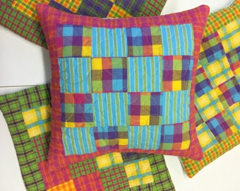 Quilted pillow sham/insert
