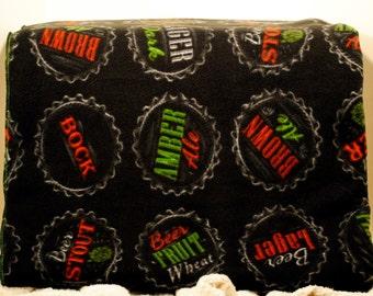 Anti-Pill Fleece Craft Brew Blanket
