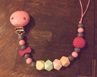 Pacifier 'Diamonds' for girls