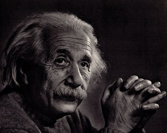 Albert Einstein the physicist and discoverer of the Theory of Relativity.