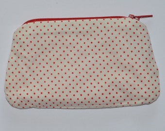 Coin purse/money purse/change purse/card purse/spotty coin purse/patterned coin purse