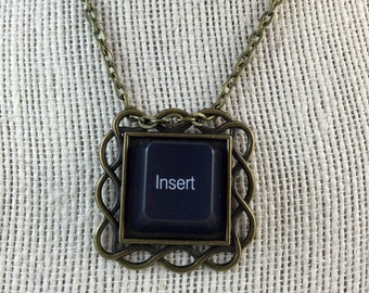 Computer Key Pendant - With Your Choice of Computer Key