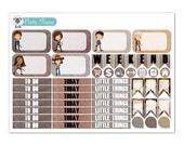 The Walking Dead Planner Stickers (Half Boxes, Headers & More)