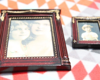 Set of Two Red Picture Frames