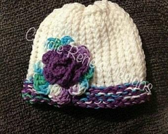 Precious Blossom Hat