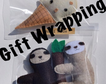 Gift Wrapping for VTCatnipToys