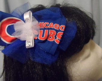 Chicago Cubs barrette