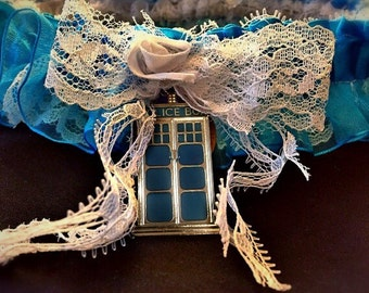 Time Lord Dr Who Inspired Garter