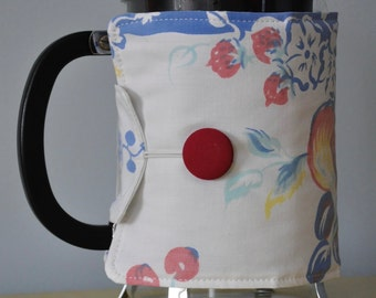 Vintage French Press Cozy