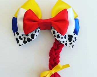 Jessi toy story hair bow