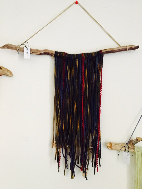 Authentic Rye NH Drift Wood leather wall hanging, each piece one of a kind.