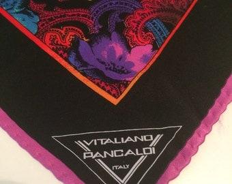 Vitaliano Pancaldi, silk clutch bag