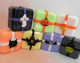 Halloween Soap - Pumpkin Soap - Witch Soap - Candy Soap - Halloween Favors - Halloween Party Favors - Halloween Guest Soap - Trick Or Treat