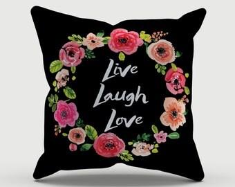 Throw Pillow - Quote Pillow - Decorative Pillow - Inspirational  Pillow - Decorative cushion