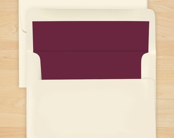 Wine Envelope Liner - Additional Options