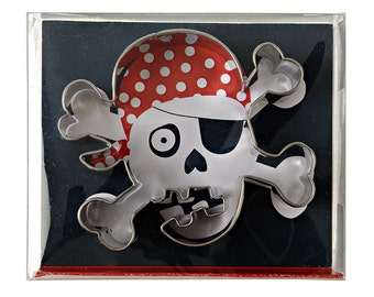 Skull & Crossbones Cookie Cutter | Pirate Cookie Cutter | Cookie Cutters | Pirate Party | Pirate Theme
