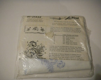 Embroidery Pillow Case Kit
