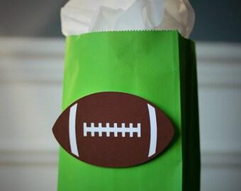 Football Party Favor Bag