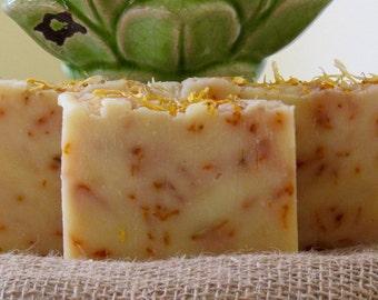 All-Natural Sweet Citrus Handmade Vegan Soap