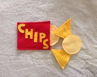Bag of Chips Catnip Toys- Set of 3