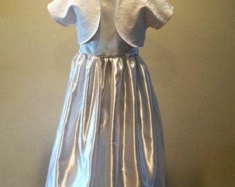 First Communion Dress with Bolero Jacket
