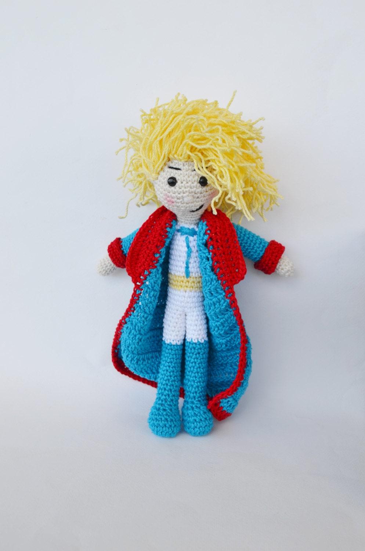 Amigurumi Small Doll : The Little Prince Amigurumi Handmade Crochet Doll by ...