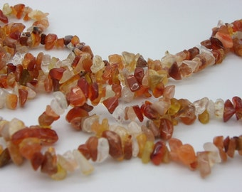 250 to 300 chips agate natural color
