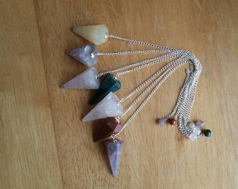 Gemstone Pendulums