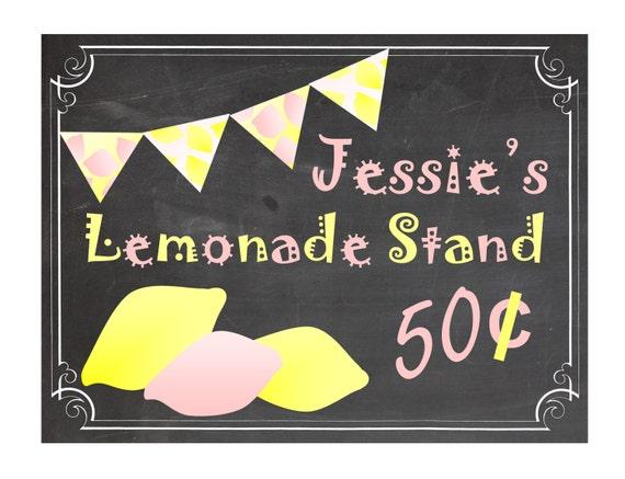 lemonade stand sign vintage lemonade signs by