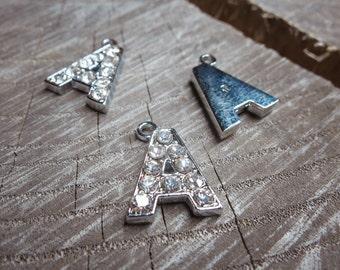 Letter A Pendant Charms ~1 pieces #100589