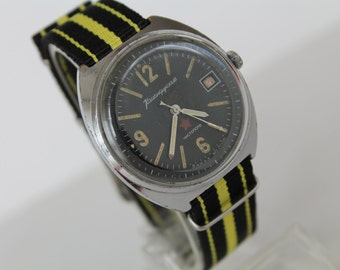 USSR Era wrist watch VOSTOK Komandirskije (Commander) mechanical watch 1970-80s !!!