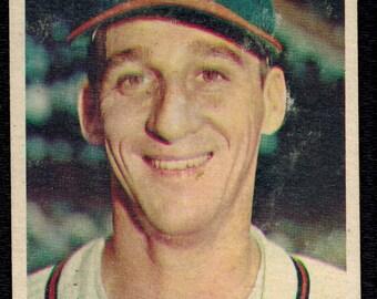 1957 TOPPS BASEBALL #90 Warren Spahn Braves HOF Ex-Mt Free Shipping!