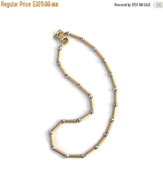SALE Gold Anklet Gold Ankle Bracelet 14k by ...