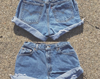 Levi's Denim Cutoffs