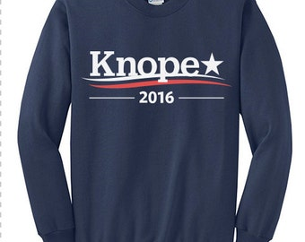 Parks and Recreation, LESLIE KNOPE, PAWNEE, Knope 2016, Parks and Rec, Make Pawnee Great Again, Leslie Knope 2016, Sweatshirt